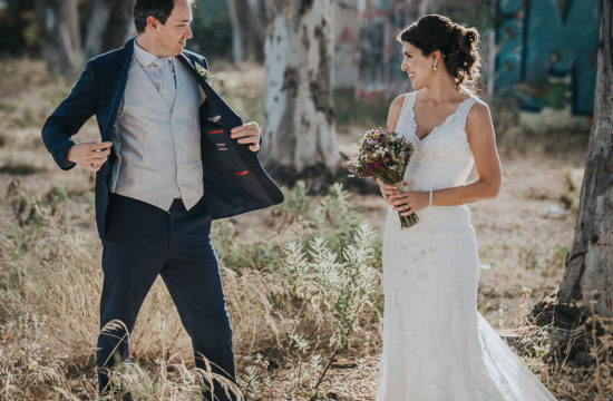 Intimate photo wedding Malaga beach photographer