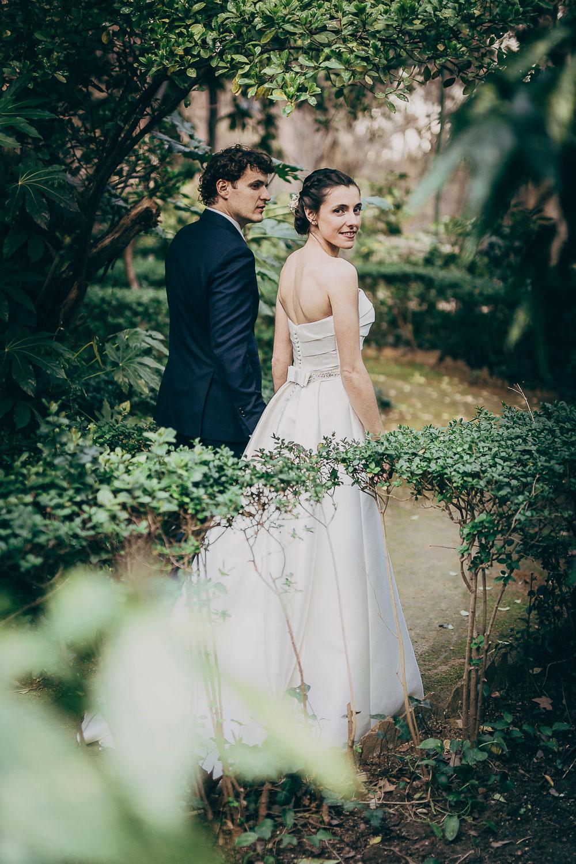 Fotos de boda en Jaén Jardines de Jabalcuz Daniel Díaz Fotografía