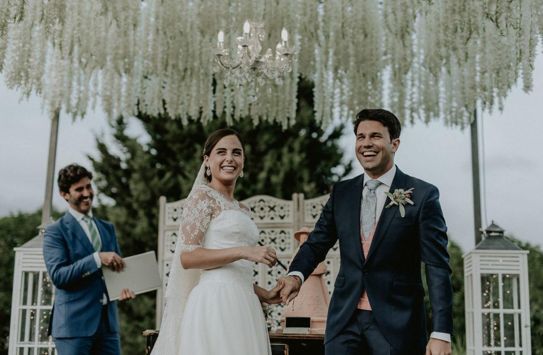 Fotos de boda familiar en Mijas al aire libre