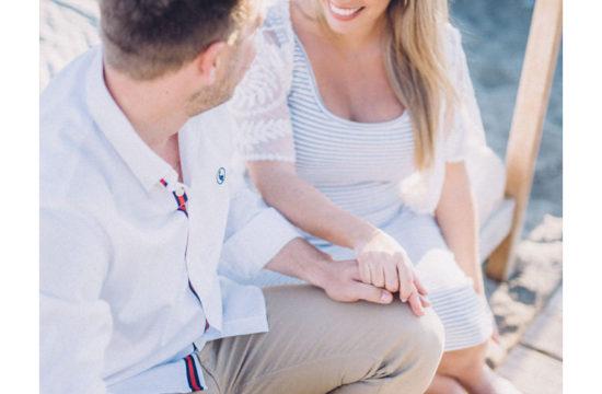 Sesión de Embarazo en la playa de Málaga. Daniel Díaz Fotografía.