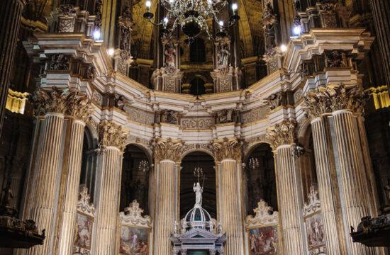 Altar Mayor Catedral de Málaga Daniel Díaz Fotografía